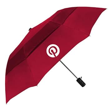 The Vented Grand Practicality Auto-Open Folding Umbrella