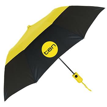 The Vented Color Crown Auto-Open Folding Umbrella