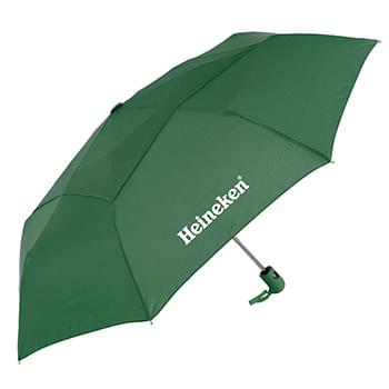 The Vented Mighty Mite Auto Open & Close Folding Umbrella