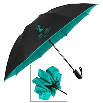 The Color Flip Inverted Folding Umbrella - Auto-Open, Reverse Auto-Closing