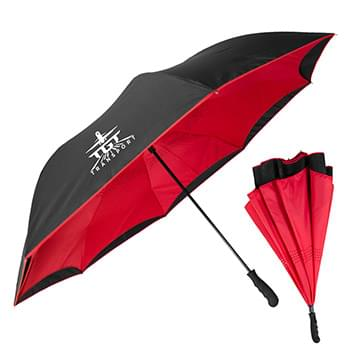 The Grand Inversa Inverted Umbrella - Manual-Open, Reverse Closing