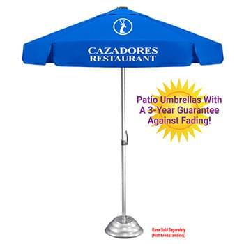 The Vented Ultimate Patio Umbrella - 3yr Fade & Mildew Guarantee, Commercial Quality