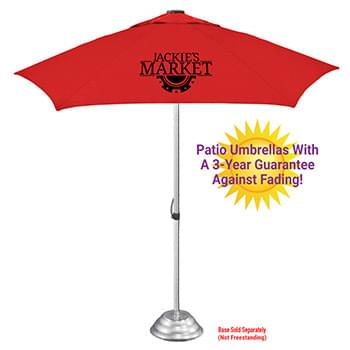The Vented Supreme Cafe Umbrella - 3yr Fade & Mildew Guarantee, Commercial Quality
